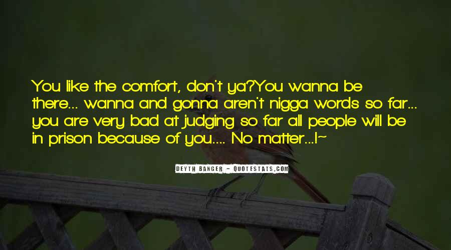 Quotes About Judging People #383644
