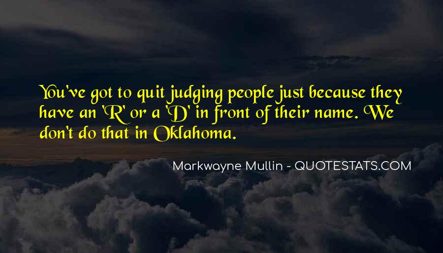 Quotes About Judging People #442720