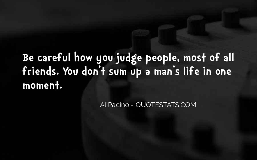 Quotes About Judging People #464443