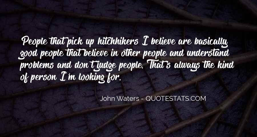 Quotes About Judging People #467325
