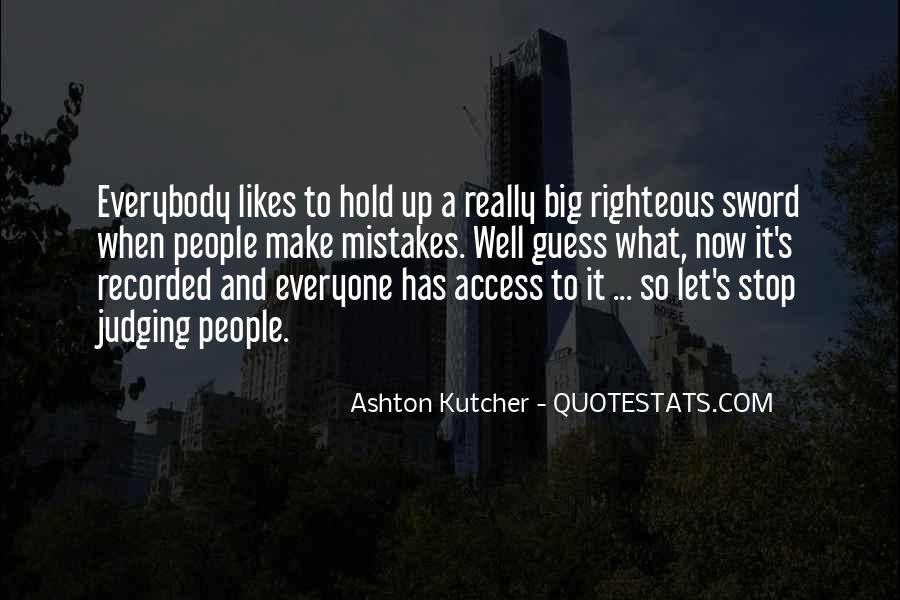 Quotes About Judging People #482313