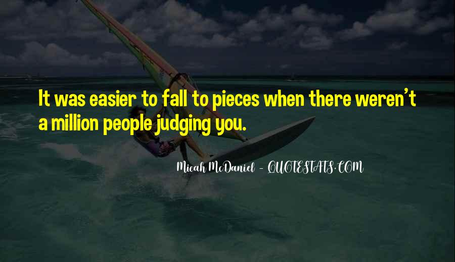 Quotes About Judging People #52884