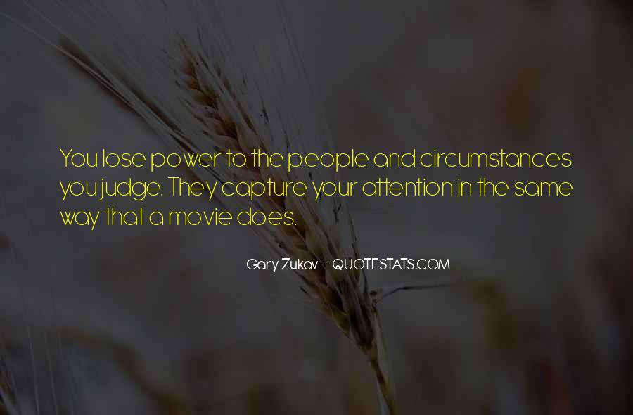 Quotes About Judging People #80504