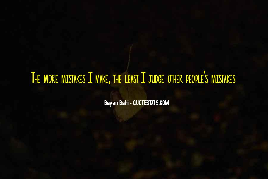 Quotes About Judging People #84616