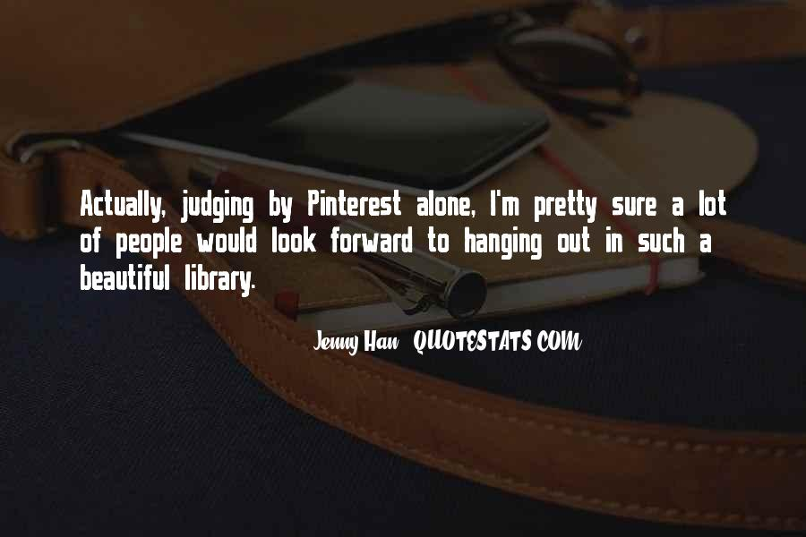 Quotes About Judging People #87461