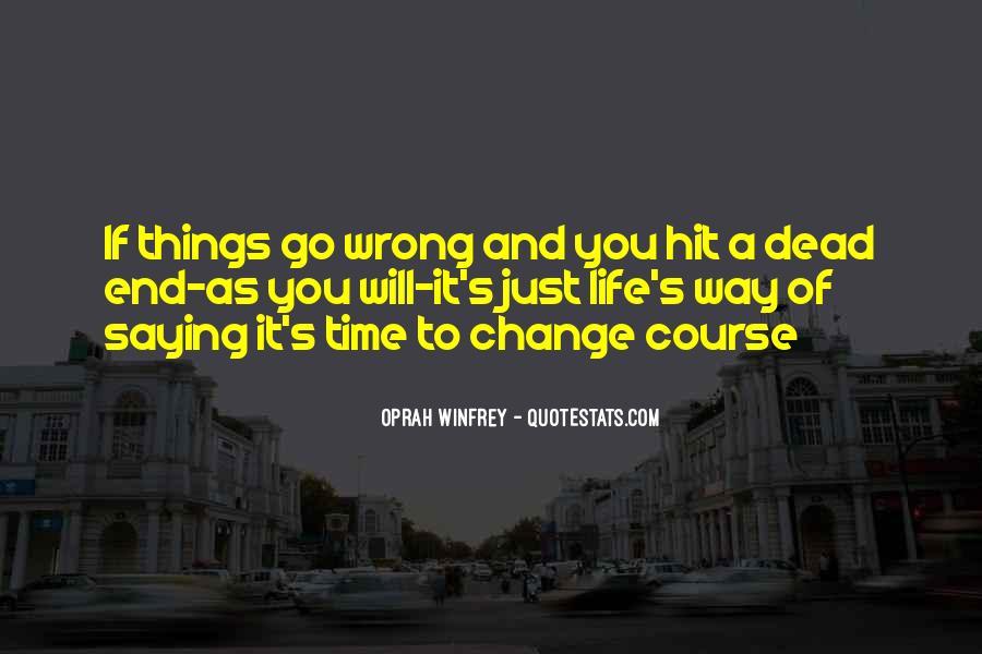 Dead End Love Quotes #1619698