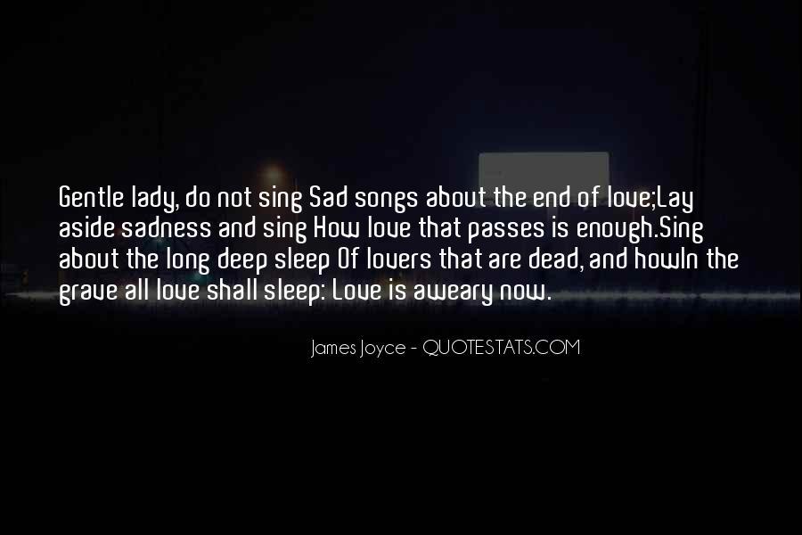 Dead End Love Quotes #1747175