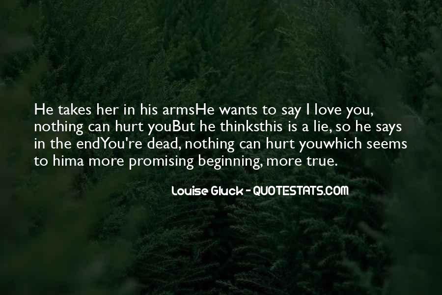 Dead End Love Quotes #250365