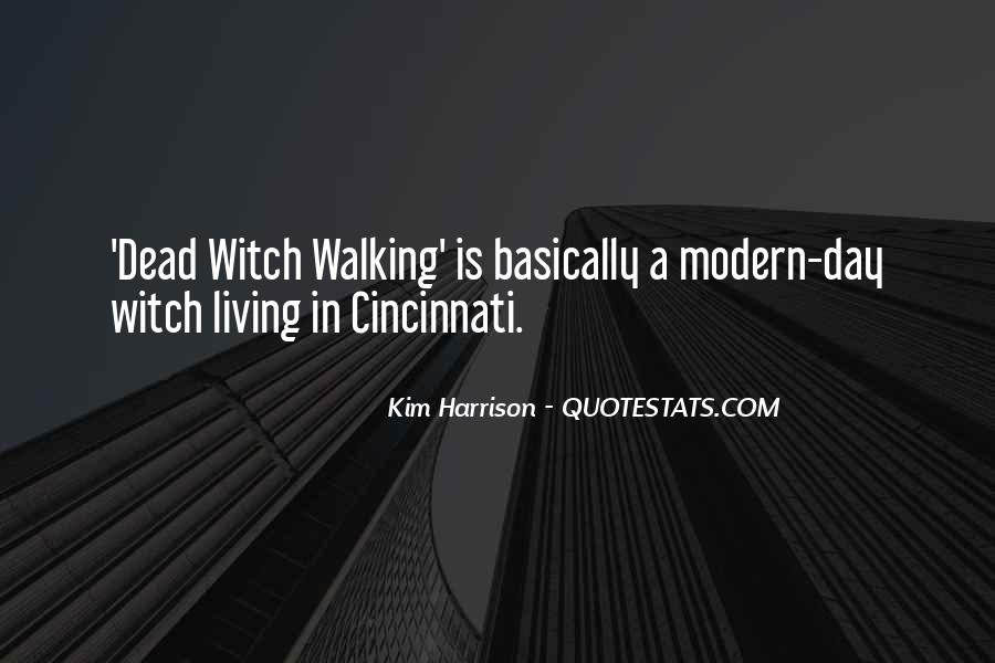 Dead Witch Walking Quotes #1384452