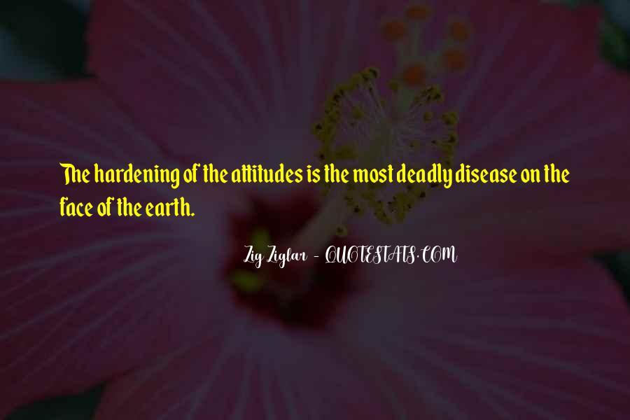 Deadly Attitude Quotes #425718