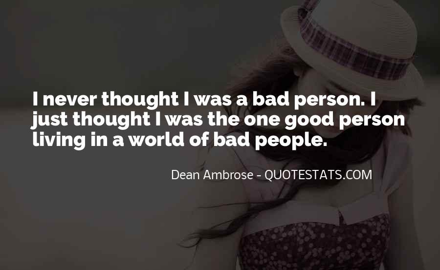 Dean Ambrose Best Quotes #211903