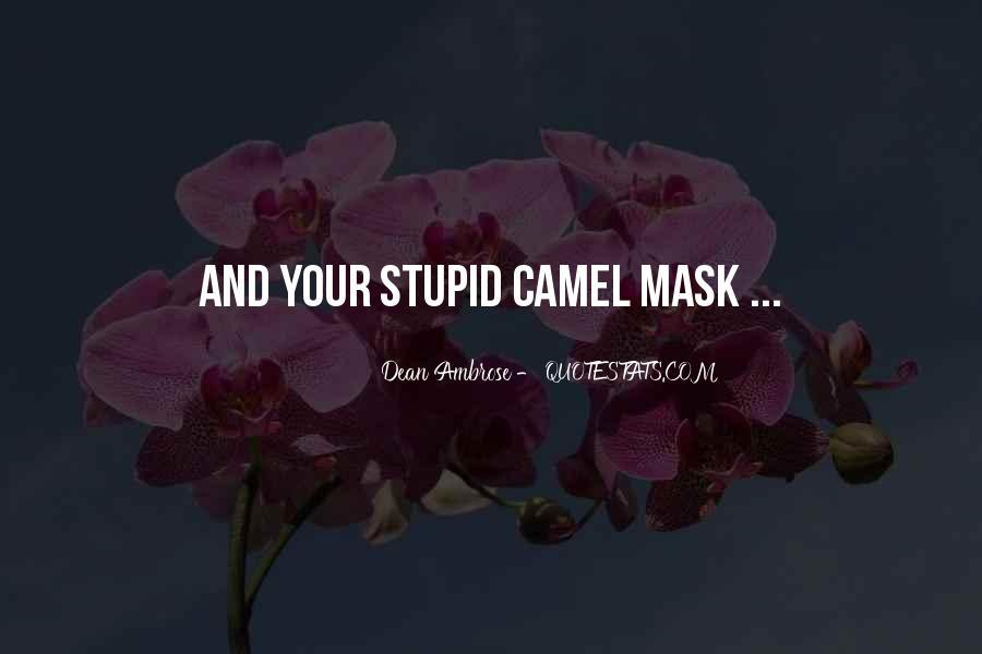 Dean Ambrose Best Quotes #484015