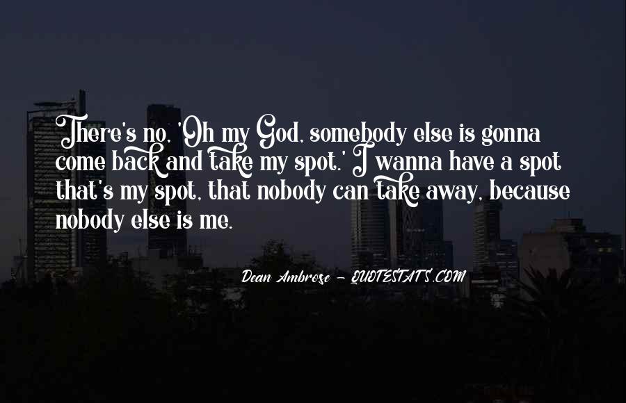 Dean Ambrose Best Quotes #542653