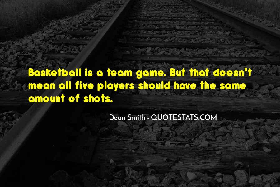 Dean Smith Team Quotes #148179