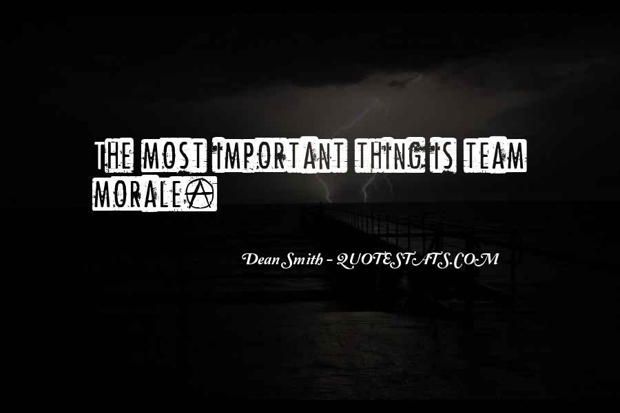 Dean Smith Team Quotes #1663446