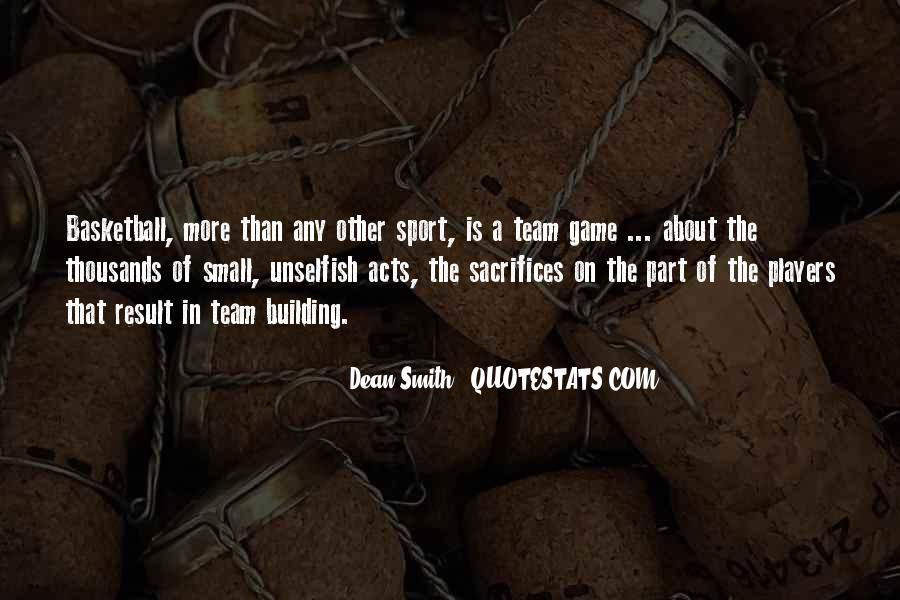 Dean Smith Team Quotes #1856324