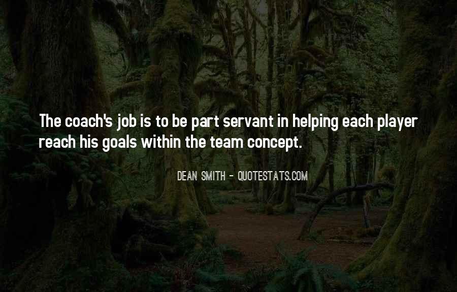 Dean Smith Team Quotes #187796