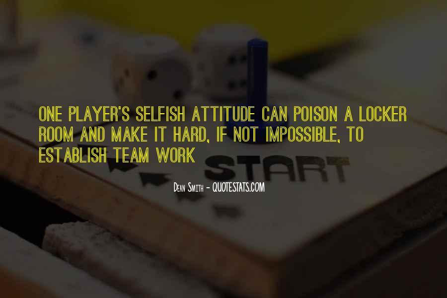 Dean Smith Team Quotes #634689