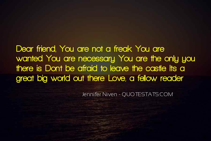 Dear Friend I Love You Quotes #499536
