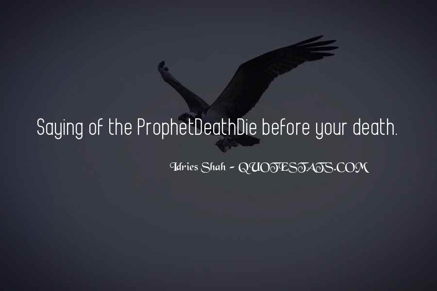 Death And Islam Quotes #1033442