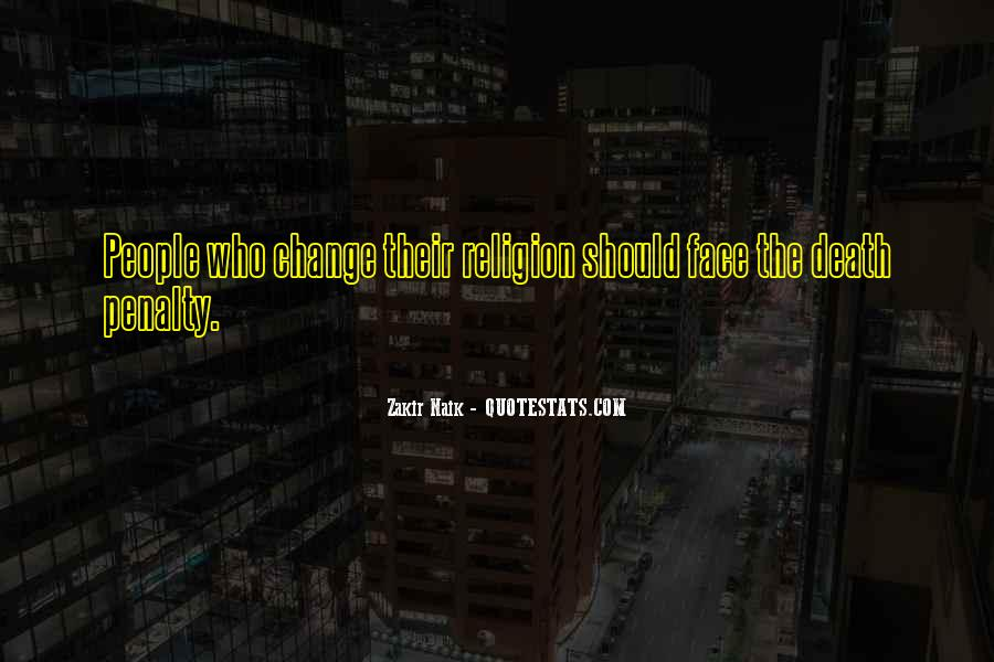 Death And Islam Quotes #1056235
