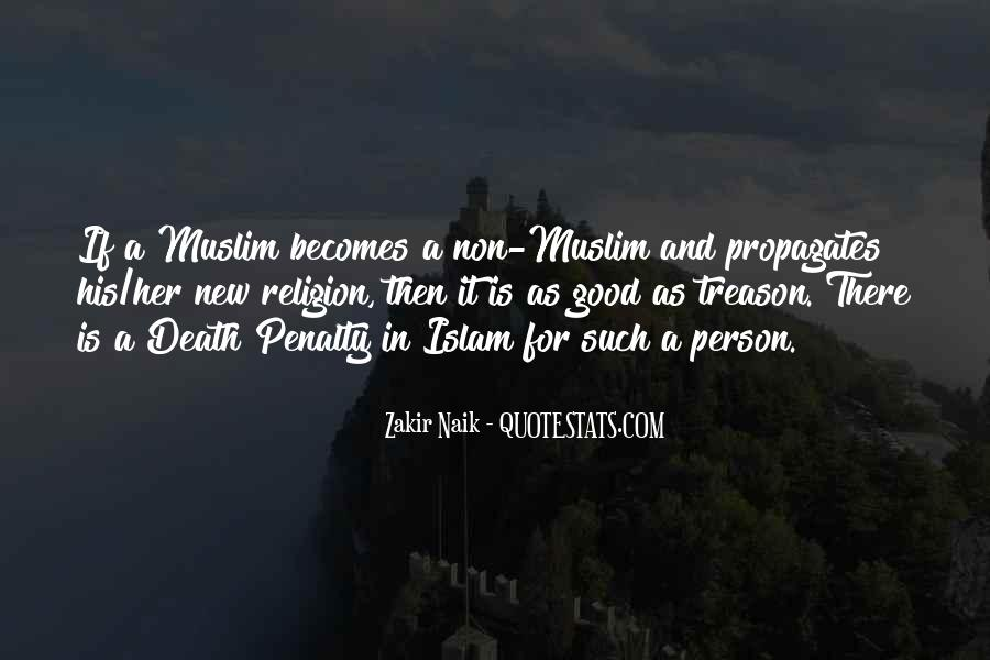 Death And Islam Quotes #1126686