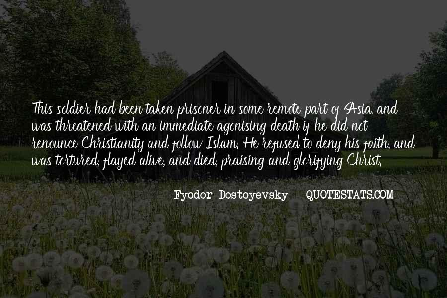 Death And Islam Quotes #1270306