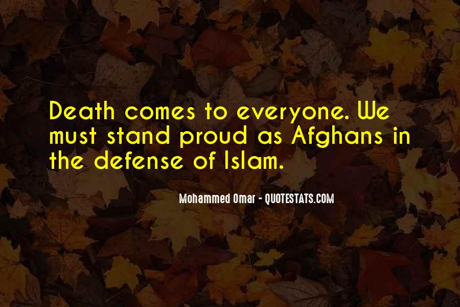 Death And Islam Quotes #1400915