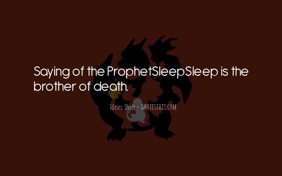 Death And Islam Quotes #1415012