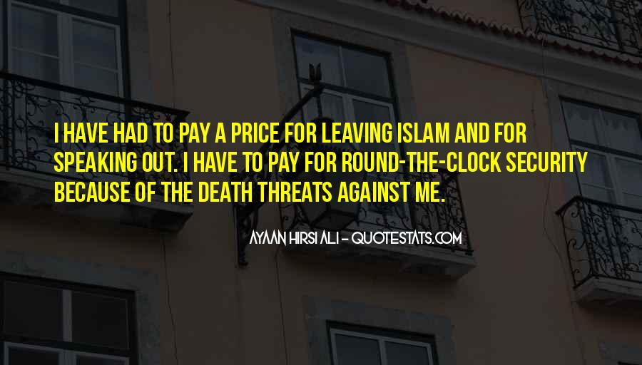 Death And Islam Quotes #1553553