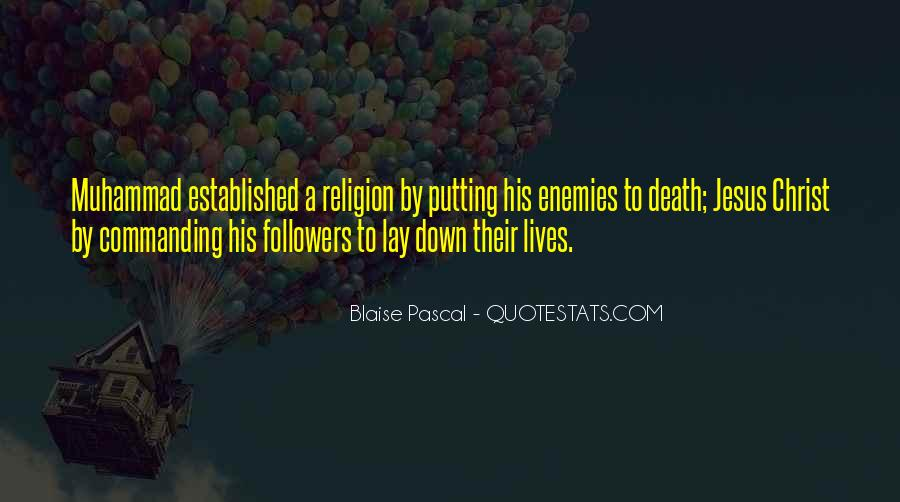 Death And Islam Quotes #1645657