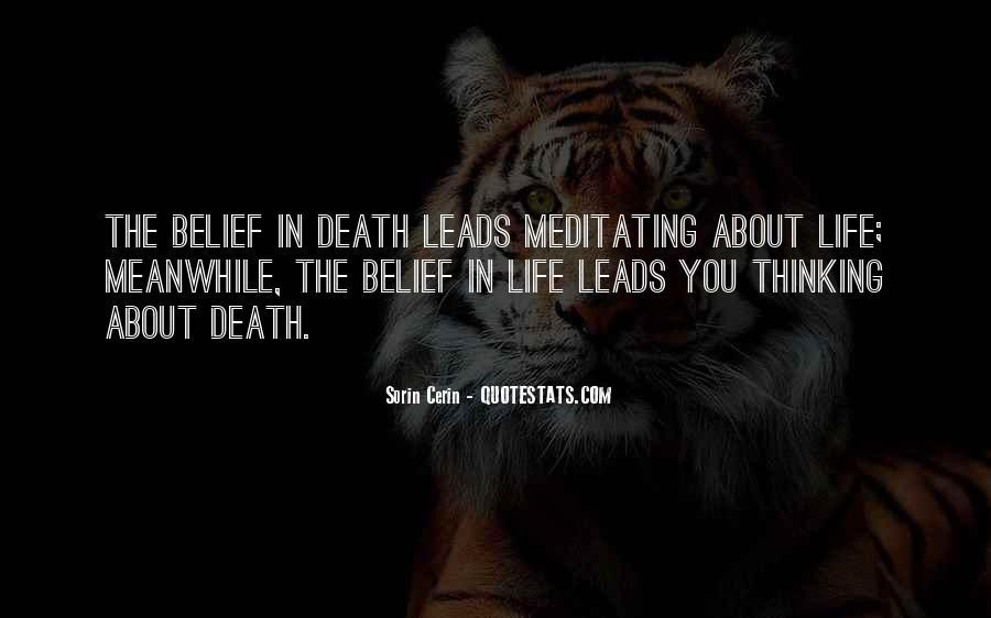 Death Death Quotes #2988