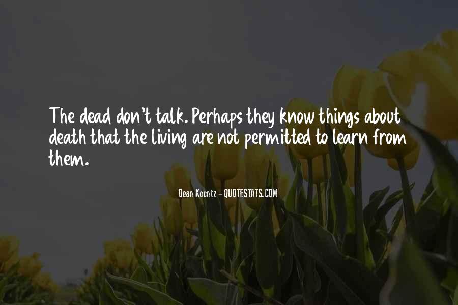 Death Death Quotes #364