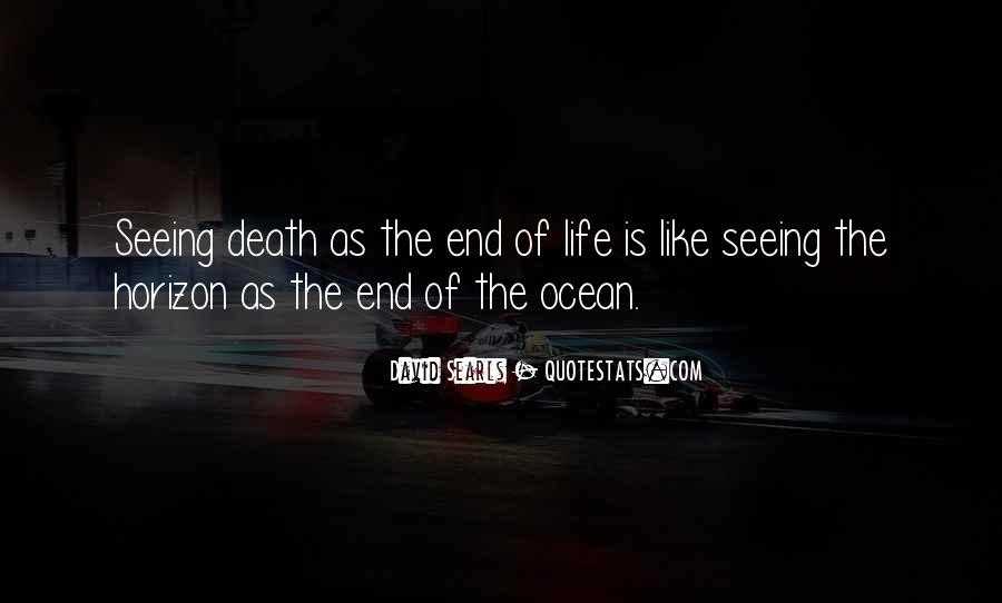 Death Is Near Quotes #1090332