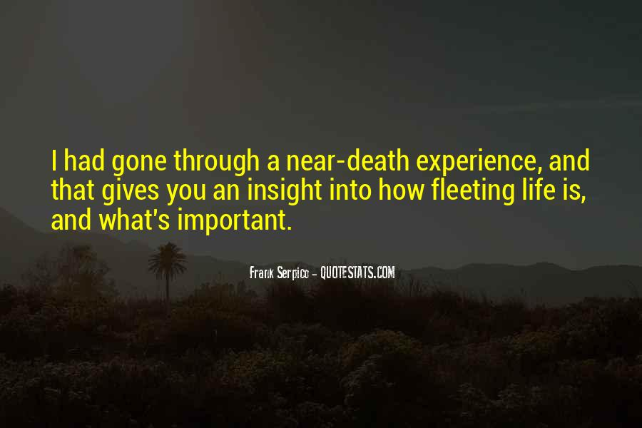 Death Is Near Quotes #1092151