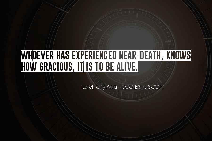 Death Is Near Quotes #1378790