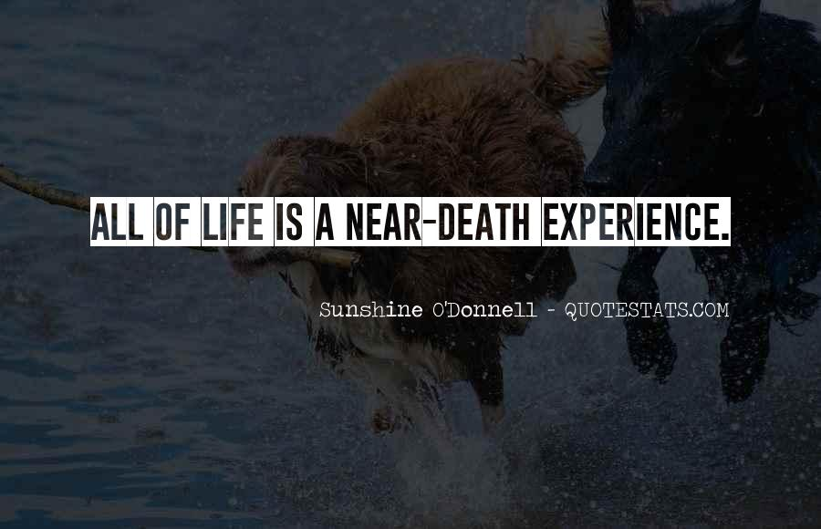 Death Is Near Quotes #211418