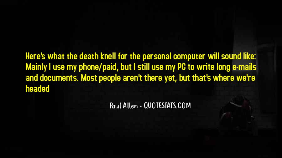 Death Knell Quotes #707911