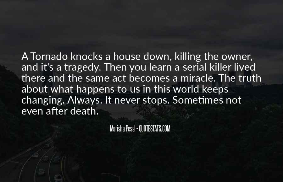 Death Knocks Quotes #1848458