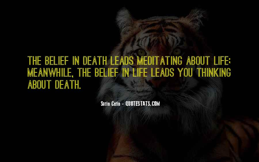 Death Like Quotes #2988