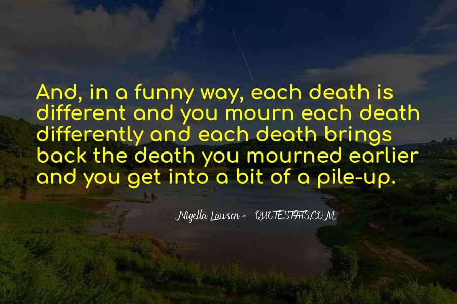 Death Like Quotes #3304