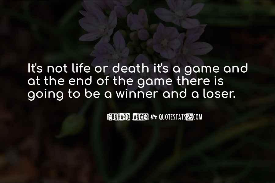 Death Not The End Quotes #106065