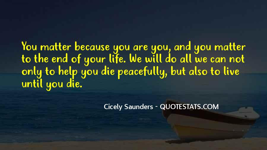 Death Not The End Quotes #1063100