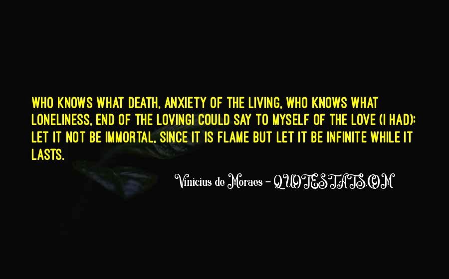 Death Not The End Quotes #106750