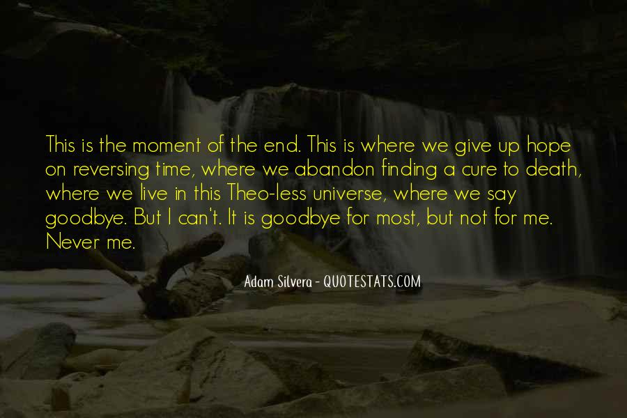 Death Not The End Quotes #1069710