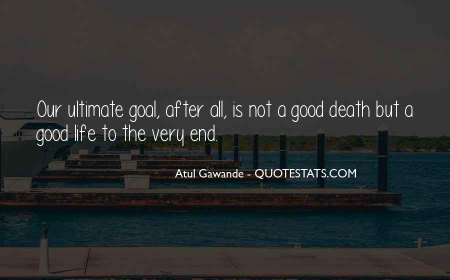 Death Not The End Quotes #1132335