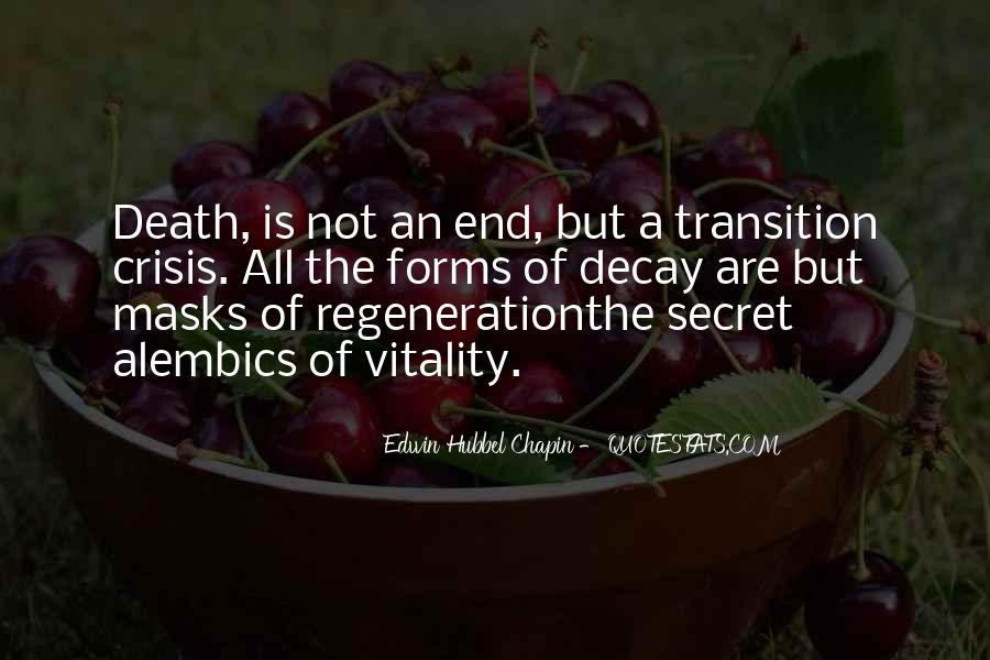 Death Not The End Quotes #1184211