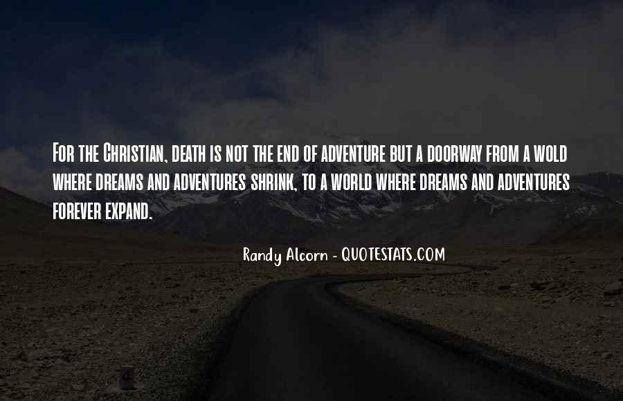 Death Not The End Quotes #124641