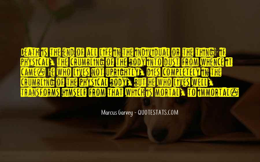 Death Not The End Quotes #167340
