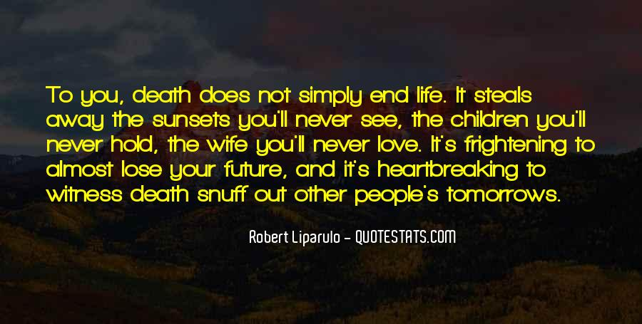 Death Not The End Quotes #19334